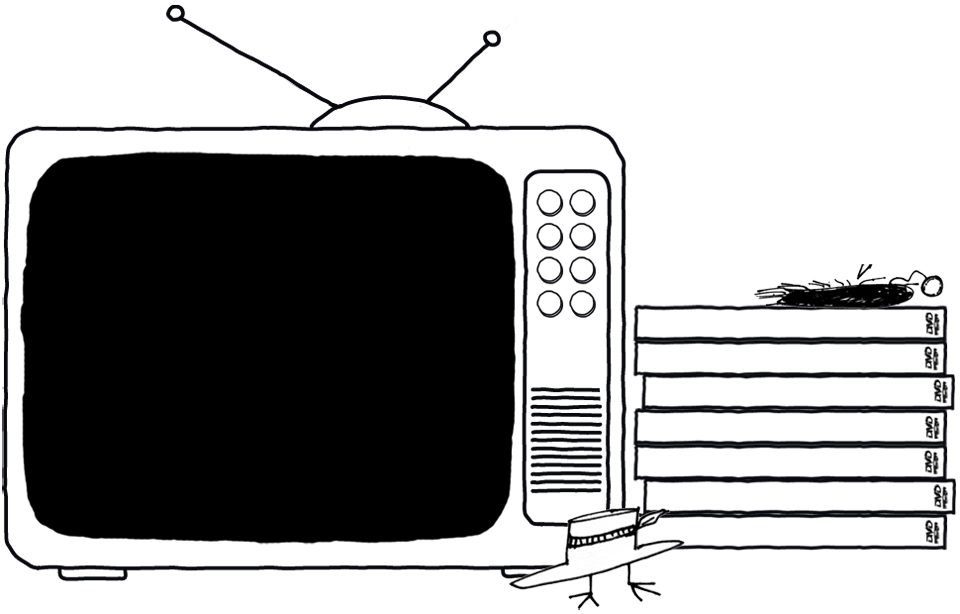 Television background