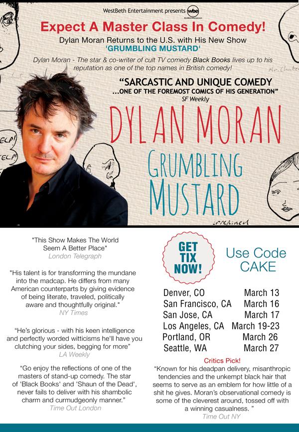 Dylan Moran Tour